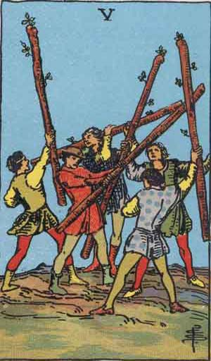 5 of Wands